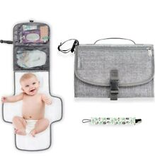 YoloNeo Portable Changing Pad, Diaper Clutch, Travel Changing Pad, wipeable New