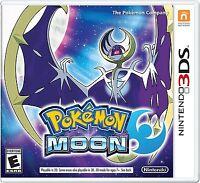 3DS Pokemon Moon For Nintendo 3DS Brand New