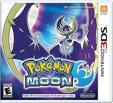3DS Pokemon Moon For Nintendo 3DS Brand New