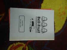 bell fruit Quatro fruit machine technical awp manual treble top