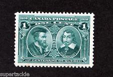 Canada 1908 Tercentennial #97 * MH VF One Cent