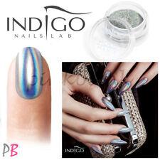INDIGO Nail Powder Dust Glitter Mermaid Pixel Manix Chrome Holo Effect TOP RANK