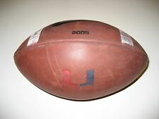 Miami Hurricanes Canes Game Used Nike 3005 Football
