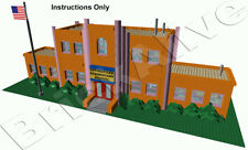 LEGO Simpson – Springfield Elementary School - INSTRUCTION PDF UNIQUEMENT - CD