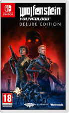 Wolfenstein joven sangre Deluxe Edition Switch (clave de descarga solamente)