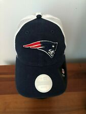 New England Patriots Women's New Era Trucker Shine Mesh Cap Hat