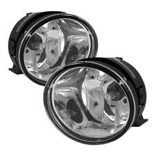 Fit Nissan 04-15 Titan 05-07 Armada Clear Bumper Fog Lights w/ Bulbs+Switch+Wire