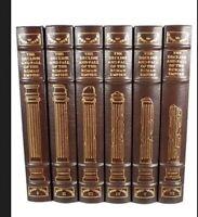 Gibbon Decline & Fall Of The Roman Empire Easton Press 6 Volumes Set 1st Edition