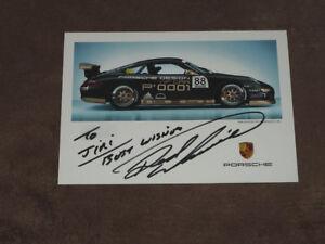 Derek WARWICK - original autogramm, (2007) Porsche 911 GT3, Karte/card 10x15 cm