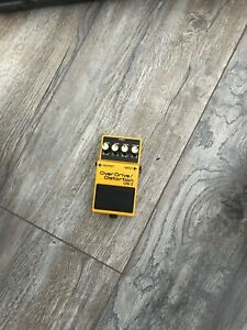 BOSS OS-2 Over Drive/Distortion Effects Pedal