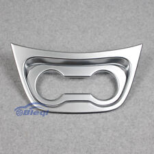 Chrome Front Console Cup Holder Cover Trim Fit Mercedes-Benz Vito 2016 2017