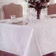 New listing Waterford Callum White 4Pc Set Cotton Napkins Scroll Damask New