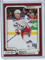 2018-19 O-Pee-Chee OPC Red Wrapper Redemption parallel #251 David Desharnais