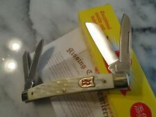 Kissing Crane Cotton Field Jig Bone 4 Blade Congress Pocket Knife Folder KC5520