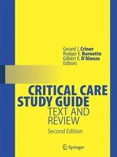 Critical Care Study Guide: Text and Review