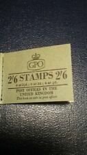 Great Britain Qe Ii (April) 1957 2s 6d Booklet - 6@2 1/2d, 6@ 2d, 6@1/2d