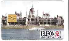 Budapest 1898 Hungary phonecard used.