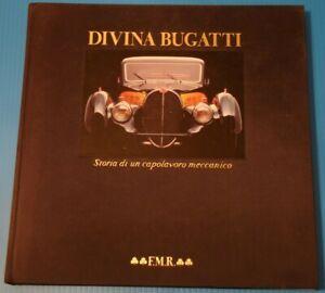DIVINA BUGATTI cars- Ricci- VERY RARE limited (/5000) hardback book,Italian lang