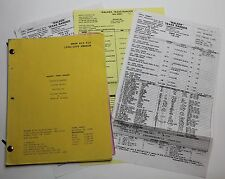 Walker, Texas Ranger * 1999 Original TV Script CHUCK NORRIS Season 7, Episode 22