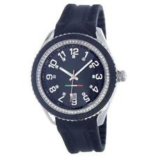 T10 MARACUJA WATCH IN SILICON , 3 SPHERES AND STRASS T10-C009N, BLACK