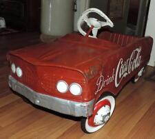 "1960's MURRAY DRINK COCA-COLA ""TEE BIRD"" OUTDOOR PEDAL CAR- NEEDS TRIM - RESTORE"