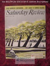 Saturday Review June 19 1954 ALFRED KORZYBSKI JONATHAN DANIELS LOUIS AUCHINCLOSS