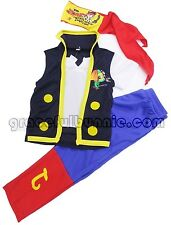 BNWT Jake and the Neverland Pirates Costume Dress up Cosplay SZ 2-7 yrs