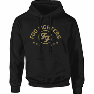 FOO FIGHTERS UNISEX PULLOVER HOODIE: ARCHED STARS