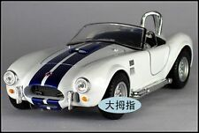 By Kinsmart 1:32 Ford Cobra 1965 Shelby Cobra casting alloy automobile model whi