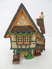 Dept 56 Dickens Village The Spider Box Locks #58448 Good Condition D56 DV