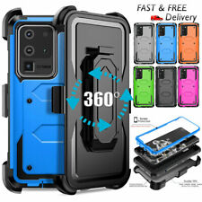 For Samsung Galaxy S20 Ultra S10 S9 Plus Note10 9 8 J7 A10E Case kickstand Cover