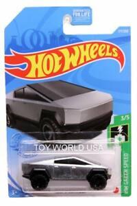 2021 Hot Wheels #177 HW Green Speed Tesla Cybertruck