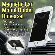 Magnetic Car Mount Holder Mobile iPhone X 10 8 7 7s 6 Plus 5 Samsung S7 S8 Edge