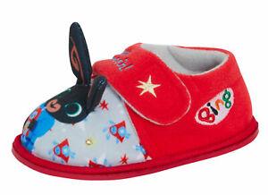 Bing Bunny Light Up Slippers Boys Girls Slipper Booties Nursery Indoor Shoes
