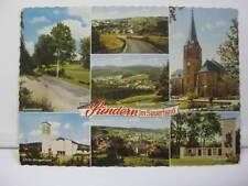 Farb AK Sundern im Sauerland - 7 Ansichten - gelaufen 1965