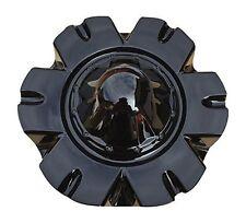 USED MEGA 921 GLOSS BLACK C921-1 or K407-2295-CAP S208-27 WHEEL RIM CENTER CAP