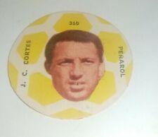 collectible card of the Great footballer Julio Cesar Cortés Peñarol