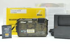 Nikon COOLPIX AW100 16 MP CMOS Waterproof Digital Camera with GPS  (Camouflage)