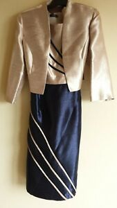 FORMAL DRESS AND JACKET, MOTHER OF THE BRIDE,GROOM, SIZE 10, AUSTRALIA MADE