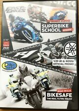 Superbike School Episode 1 DVD Plus YZF-R1 & Rossi Official Promo Plus Bike safe