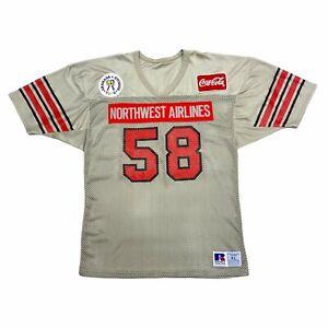 TGI Fridays Northwest Airlines American Football Jersey   Vintage 90s Sportswear