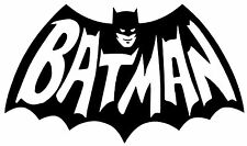 BATMAN Dark Knight DC Comic Movie Vinyl Decal Sticker Bumper Window Wall Black