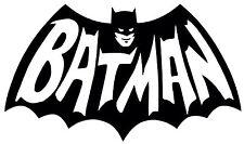 BATMAN Dark Knight DC Comic Movie Vinyl Decal Sticker Bumper Window Wall Black