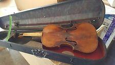 Violín violin violon violino vieja old case Bow violín Stainer carteles Emblem