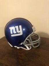 NEW YORK GIANTS RIDDELL NFL MINI FOOTBALL HELMET