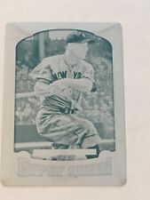 Lou Gehrig 2014 Topps Gypsy Queen Press Plate #1/1 Yankees FREE SHIP