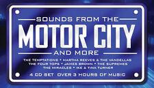 Motor City Sounds 4 CD 1960s Detroit Motown Music Songs