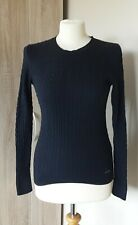 SUPERDRY ITALIAN CASHMERE BLEND CABLE KNIT JUMPER