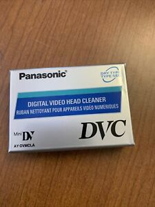 Panasonic DVC Mini DV Digital Video Head Cleaner Tape