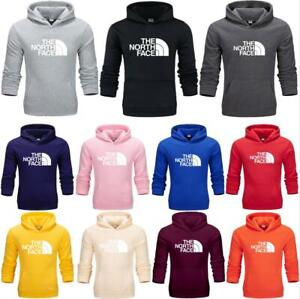 Mens Womens The North Face Pullover Hoodie Tops Sweatshirt Casual Hooded Jumper